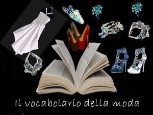 vocabolario moda