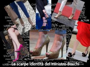Look del potere delle donne di successo: le scarpe di Maria Elena Boschi