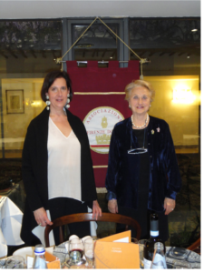 Conferenza Firenze Donna -Foto con la presidente Serena Zavattaro