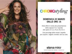 Vestirsi di colore- evento Chromostyling Firenze