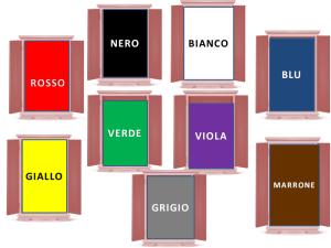 Vestirsi di colore - i colori dell'armadio