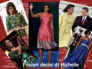 Look del potere delle donne di successo - Michelle Obama