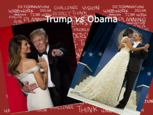 Trump vs Obama - Il ballo inaugurale