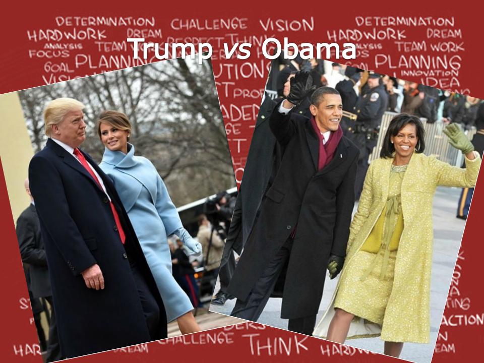 moda vs cosa gli Trump comunicano Psicologia abiti della Obama 8AxqwU