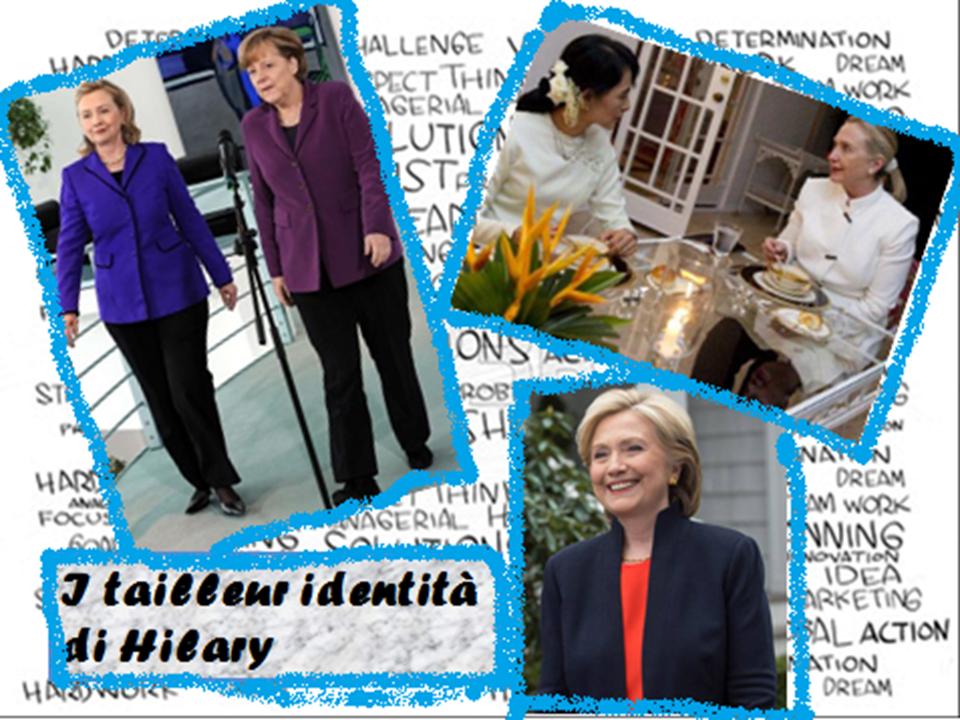 Look di Hillary Clinton