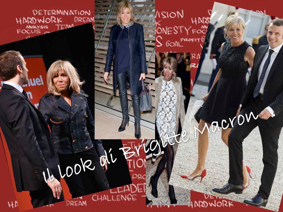 Look di Brigitte Macron