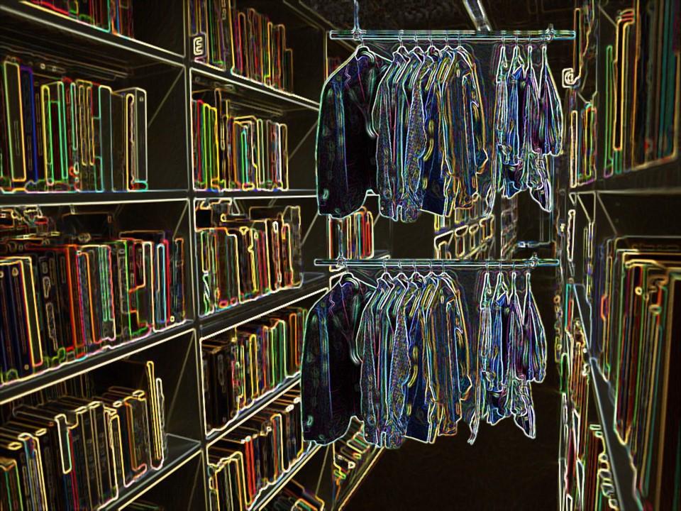 L'armadio nella letteratura